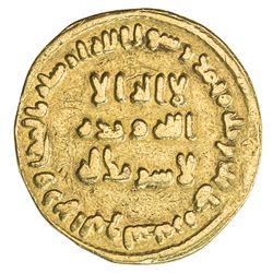 UMAYYAD: 'Abd al-Malik, 685-705, AV dinar (3.88g), NM (Dimashq), AH78. F