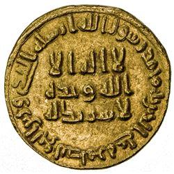UMAYYAD: 'Abd al-Malik, 685-705, AV dinar (4.23g), NM (Dimashq), AH83. EF