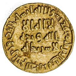UMAYYAD: 'Abd al-Malik, 685-705, AV dinar (4.26g), NM (Dimashq), AH84. EF