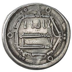ABBASID: al-Hadi, 785-786, AR dirham (2.76g), al-Haruniya, AH170. VF