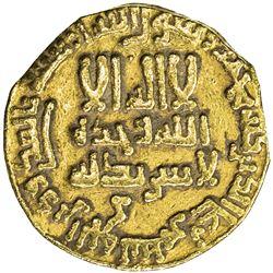 ABBASID: al-Rashid, 786-809, AV dinar (3.98g), NM (Egypt), AH173. EF