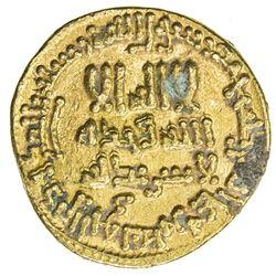ABBASID: al-Rashid, 786-809, AV dinar (4.25g), NM (Egypt), AH189. VF
