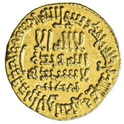 ABBASID: al-Ma'mun, 810-833, AV dinar (4.22g), Misr, AH199. EF-AU