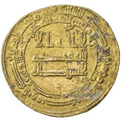 ABBASID: al Mu'tasim, 833-842, AV dinar (4.13g), Misr, AH224. VF