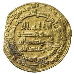 ABBASID: al-Mutawakkil, 847-861, AV dinar (3.98g), Misr, AH237. F-VF