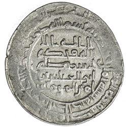 ABBASID: al-Muqtadir, 908-932, AR dirham (3.53g), Antakiya, AH308. VF