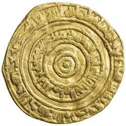 FATIMID: al-'Aziz, 975-996, AV dinar (4.02g), al-Mansuriya, AH384. VF