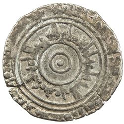 FATIMID: al-'Aziz, 975-996, AR 1/2 dirham (1.52g), al-Qahira al-Mahrusa, AH383. VF
