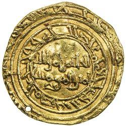 FATIMID: al-Hakim, 996-1021, AV dinar (4.17g), al-Mansuriya, DM. VF