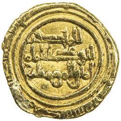 FATIMID: al-Hakim, 996-1021, AV 1/4 dinar (0.95g), al-Mahdiya, AH(4)11. VF