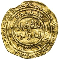 FATIMID: al-Zahir, 1021-1036, AV dinar (4.18g), al-Mansuriya, AH415. VF