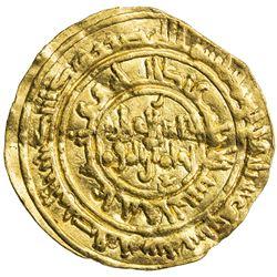 FATIMID: al-Zahir, 1021-1036, AV dinar (3.95g), al-Mansuriya, AH427. VF