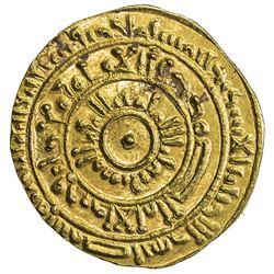 FATIMID: al-Mustansir, 1036-1094, AV dinar (4.03g), al-Iskandariya, AH471. AU
