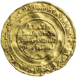 FATIMID: al-Mustansir, 1036-1094, AV dinar (3.14g), Filastin, AH434. F-VF