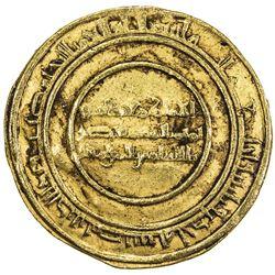 FATIMID: al-Mustansir, 1036-1094, AV dinar (4.18g), Misr, AH431. VF