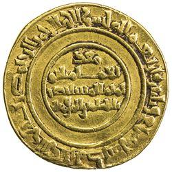 FATIMID: al-Mustansir, 1036-1094, AV dinar (3.92g), Misr, AH437. VF