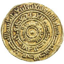FATIMID: al-Mustansir, 1036-1094, AV dinar (3.92g), Misr, AH442. F-VF