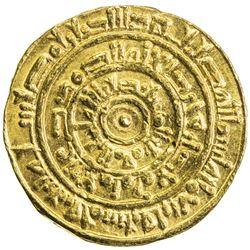 FATIMID: al-Mustansir, 1036-1094, AV dinar (4.32g), Misr, AH452. EF
