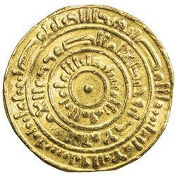 FATIMID: al-Mustansir, 1036-1094, AV dinar (4.35g), Misr, AH462. VF