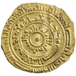 FATIMID: al-Mustansir, 1036-1094, AV dinar (4.27g), Misr, AH472. EF