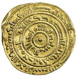 FATIMID: al-Mustansir, 1036-1094, AV dinar (3.85g), Misr, AH473. VF