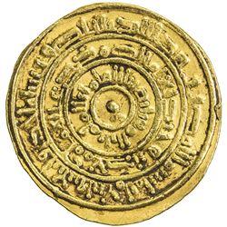 FATIMID: al-Mustansir, 1036-1094, AV dinar (3.87g), Sur, AH441. VF