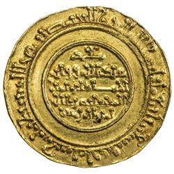 FATIMID: al-Mustansir, 1036-1094, AV dinar (3.94g), Tarabulus (Trablus), AH471. EF