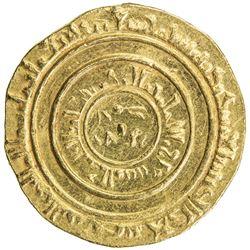 FATIMID: al-Musta'li, 1094-1101, AV dinar (4.34g), al-Iskandariya, AH490. AU