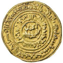 BURID: Abaq, 1140-1154, AV dinar (4.65g), Dimashq, AH534. VF
