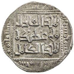 AYYUBID: Abu Bakr I, 1196-1218, AR dirham (3.01g), al-Qahira, AH598. VF-EF