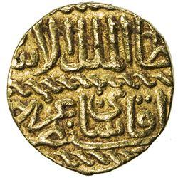 BURJI MAMLUK: Qa'itbay, 1468-1496, AV ashrafi (3.40g), NM, ND. VF