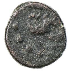 OTTOMANS IN YEMEN: Osman III, 1754-1757, AE fals (0.81g), 'Ar'ar, AH1168. F-VF