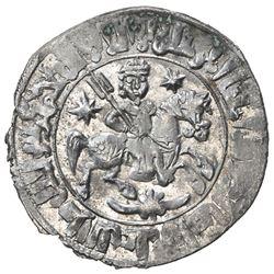SELJUQ OF RUM: Sulayman II, al sultan, 1199-1204, AR dirham (3.04g), Konya, AH598. AU