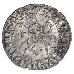 SELJUQ OF RUM: Kaykhusraw II, 1236-1245, AR bilingual tram (2.87g), Sis, AH639. EF