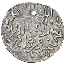SELJUQ OF RUM: Kaykhusraw III, 1265-1283, AR 1/2 dirham (2.88g), Antalya, AH681. VF