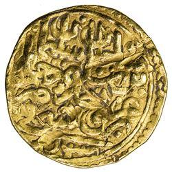OTTOMAN EMPIRE: Suleyman I, 1520-1566, AV sultani (3.38g), Bursa, AH926. VF
