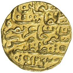OTTOMAN EMPIRE: Suleyman I, 1520-1566, AV sultani (3.39g), Kostantiniye, AH926. VF