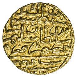 OTTOMAN EMPIRE: Suleyman I, 1520-1566, AV sultani (3.53g), Misr, AH926. VF-EF