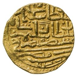OTTOMAN EMPIRE: Suleyman I, 1520-1566, AV sultani (3.48g), Misr, AH926. VF