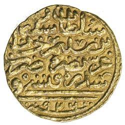 OTTOMAN EMPIRE: Suleyman I, 1520-1566, AV sultani (3.52g), Sidrekapsi, AH926. VF-EF