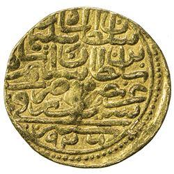 OTTOMAN EMPIRE: Suleyman I, 1520-1566, AV sultani (3.49g), Siroz, AH926. F
