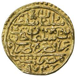 OTTOMAN EMPIRE: Selim II, 1566-1574, AV sultani (3.44g), Misr, AH974. VF-EF