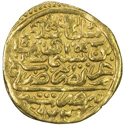 OTTOMAN EMPIRE: Selim II, 1566-1574, AV sultani (3.48g), Misr, AH974. VF-EF