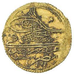 EGYPT: Mustafa III, 1757-1774, AV zeri mahbub (2.59g), Misr, AH1171. AU
