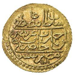 EGYPT: Ali Bey, 1769-1771, AV zeri mahbub (2.59g), Misr, AH1171/83. AU