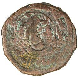 TAHIRID: Talha, 822-828, AE fals (1.97g), Bust, DM. F