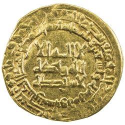 QARAKHANID: Nasr b. 'Ali, 993-1012, AV dinar (3.86g), Nishapur, AH396. VF