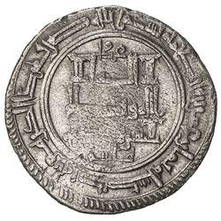 QARAKHANID: Sulayman b. Yusuf, 1031-1056, AR dirham (3.75g), Uzkand, AH428. VF