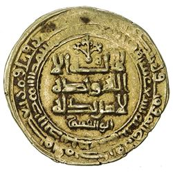 GHAZNAVID: Mahmud, 999-1030, AV dinar (4.83g), Ghazna, AH419. VF