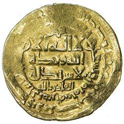 GHAZNAVID: Mahmud, 999-1030, AV dinar (4.24g), Herat, AH398. F-VF